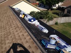 In Progress - Roof Transition Ridge