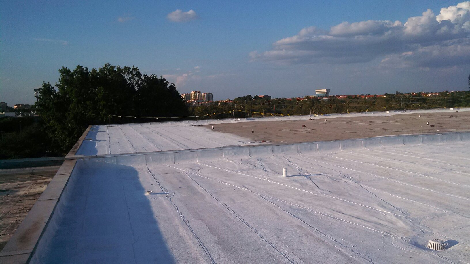 In Progress - GAF Coating