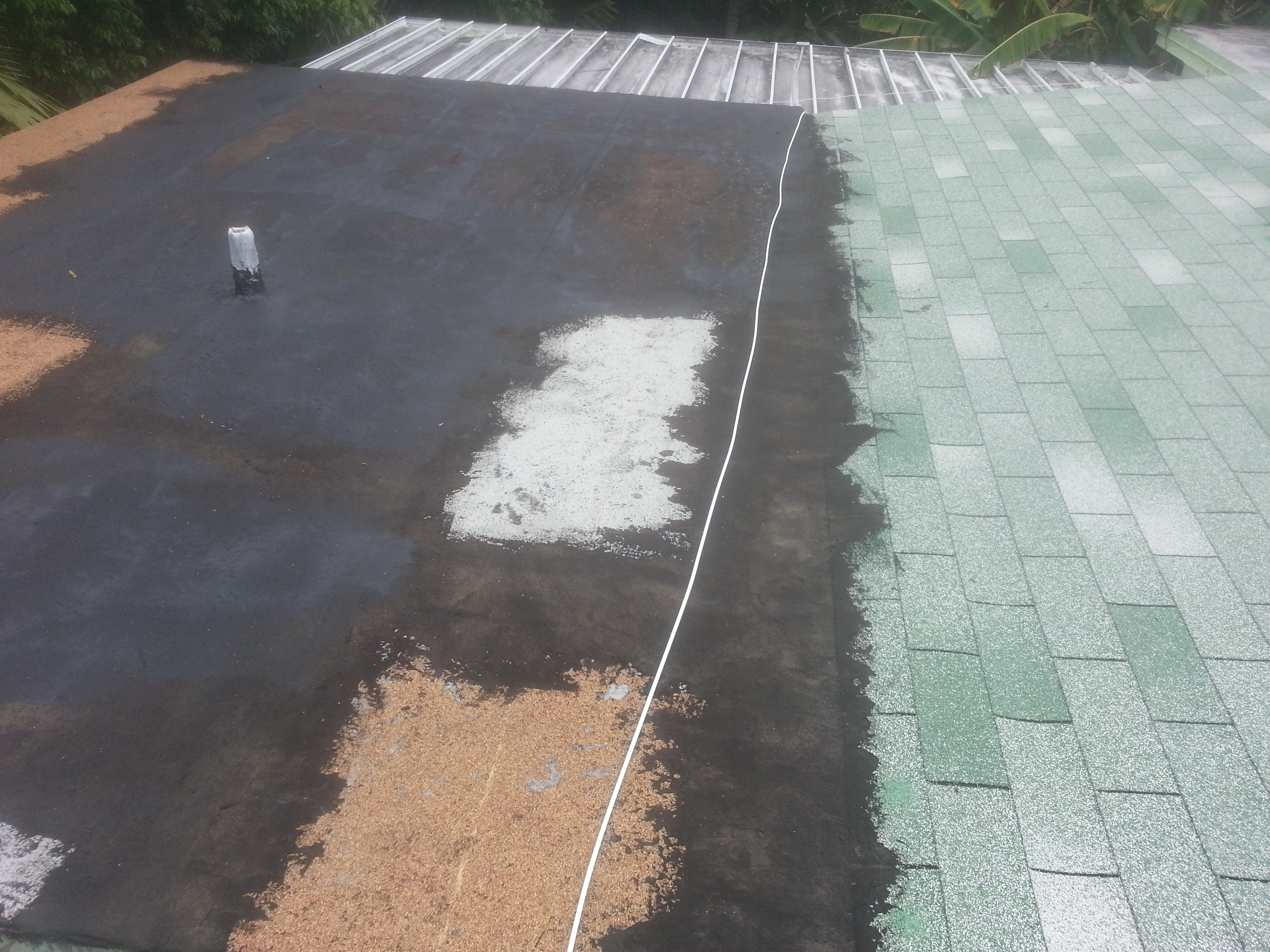 Before - 20yr Old Asphalt Roof