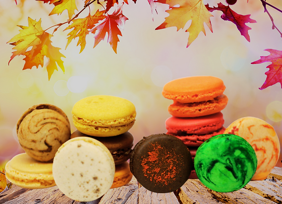 Fall Macaron Box