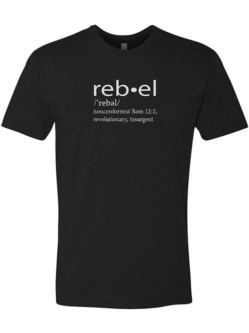 PG Rebel Unisex Tee **New**