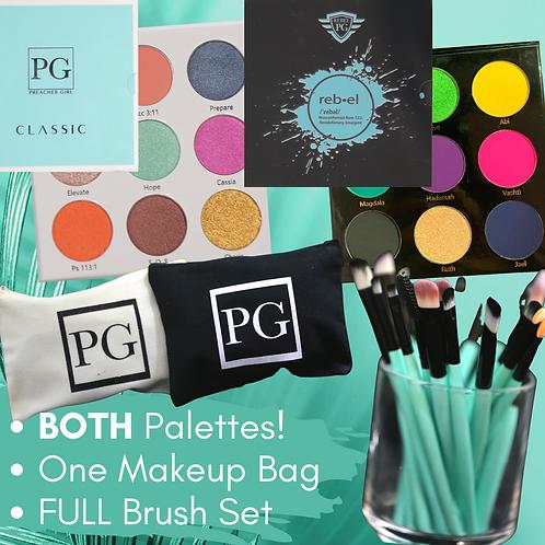 PG Makeup Bundle (Includes BOTH Palettes!)