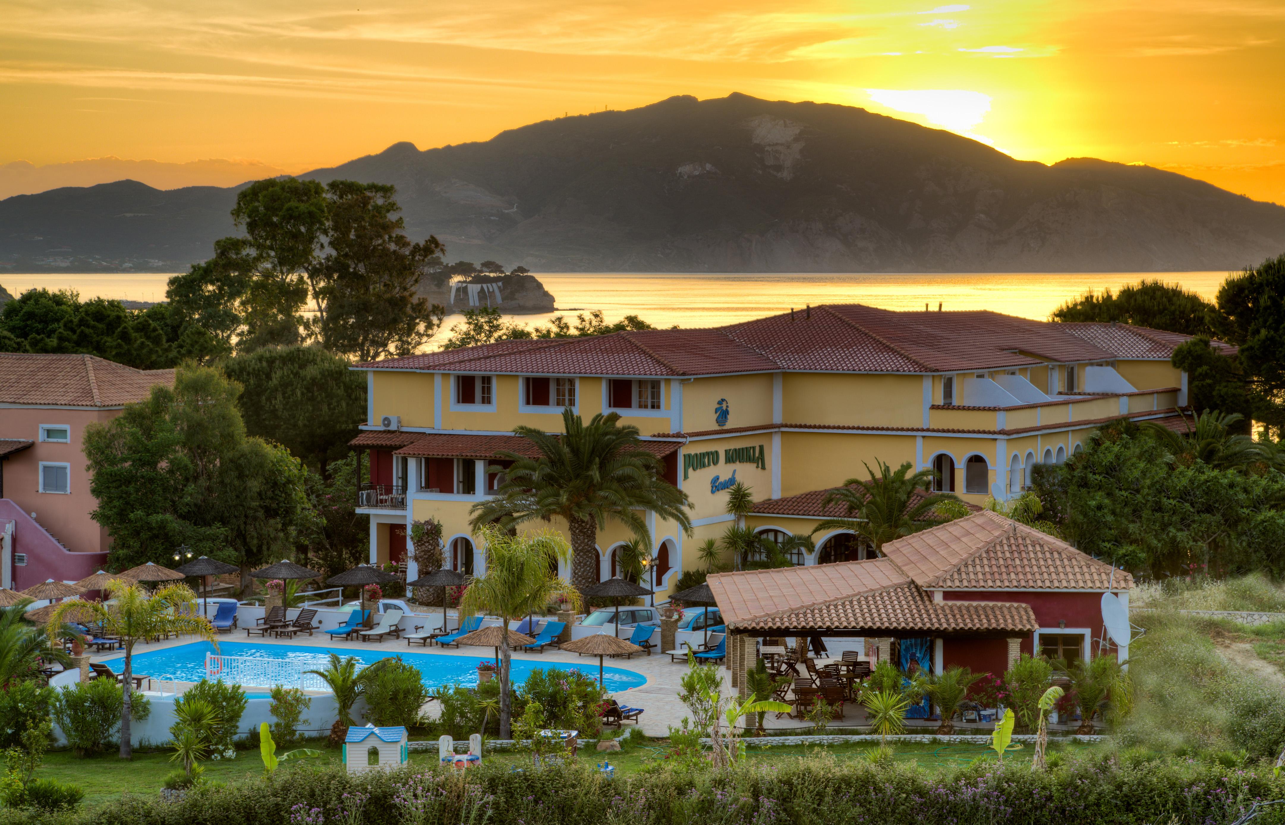 Porto Koukla Hotel General View