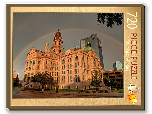 Tarrant County Courthouse Puzzle