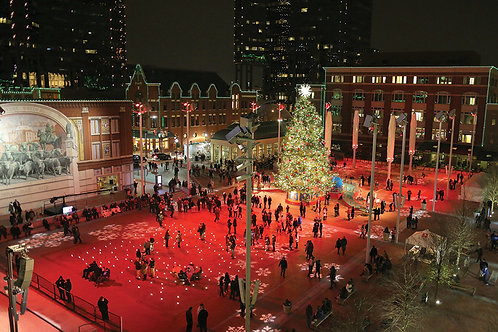 Holiday Cards - Sundance Square in Red