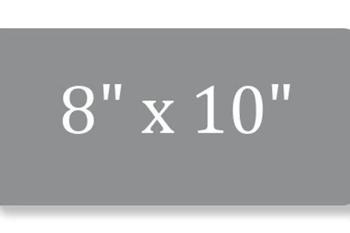"""8"""" x 10"""" Metal Prints"""