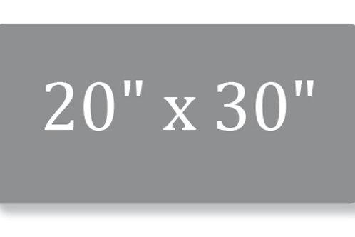 "20"" x 30"" Metal Print"