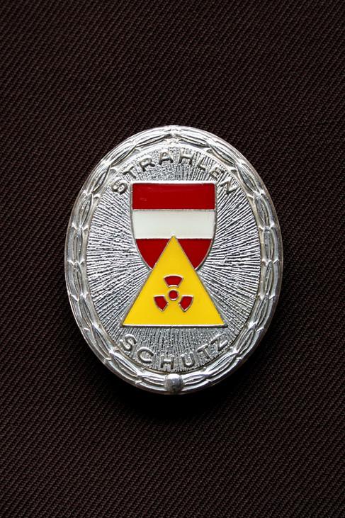 Strahlenschutzabzeichen in Silber