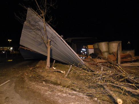 Mehrere Einsätze durch starken Sturm