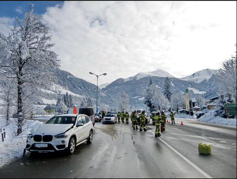 Verkehrsunfall Bertahof