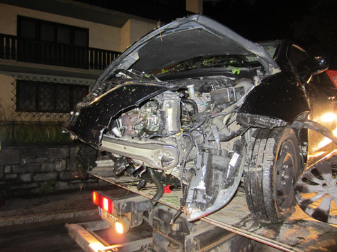 Verkehrsunfall Haitzingallee