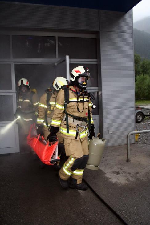 Gefahrgutübung mit EKO Cobra Salzburg