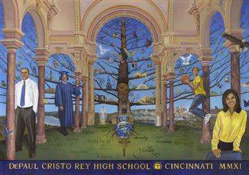 DePaul Cristo Rey Mural