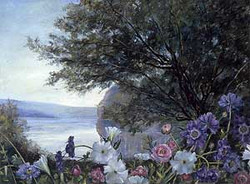 Flowers, Homage to Corot