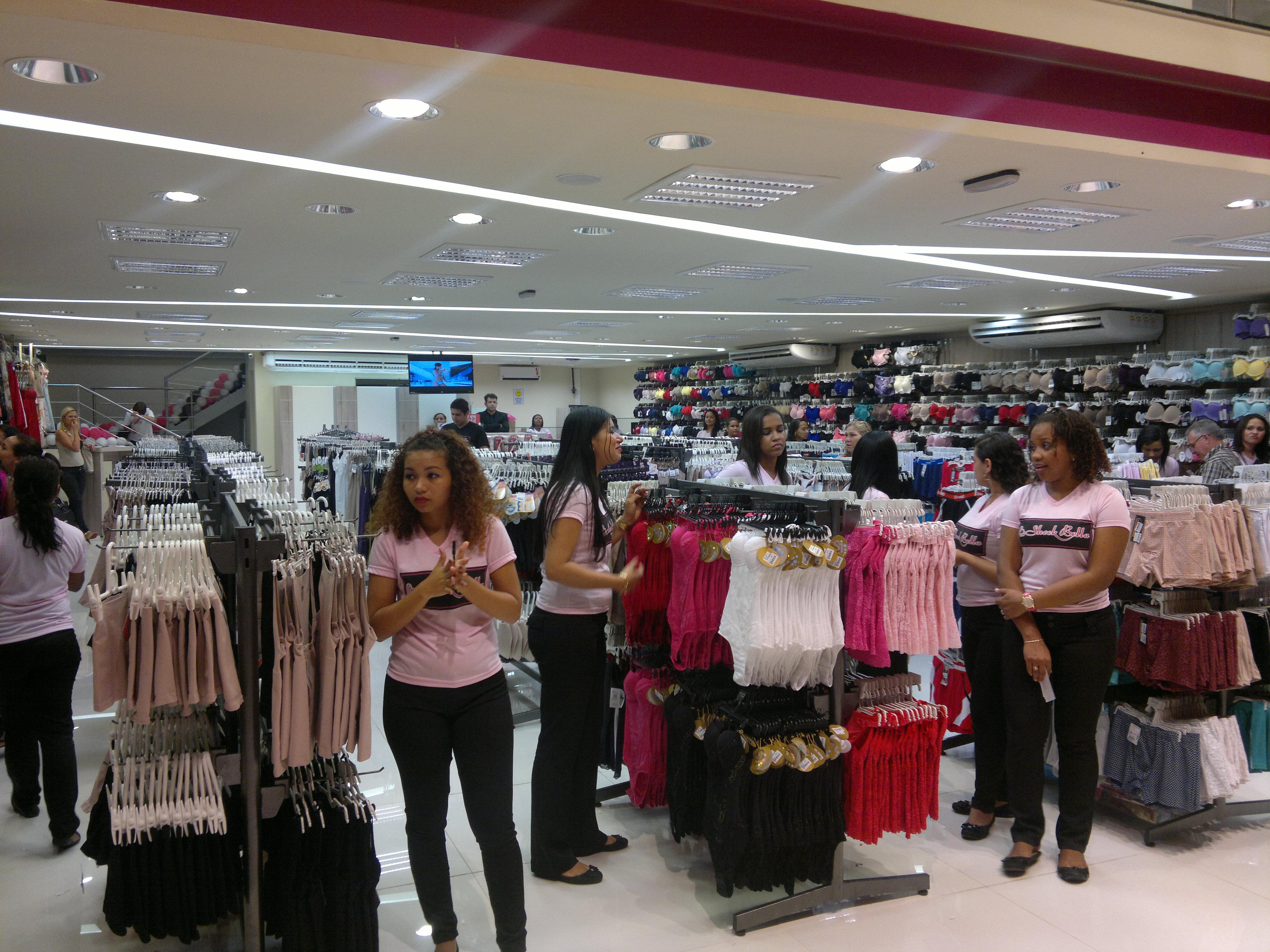 Loja Moda Íntima Feminina 1 - Centro