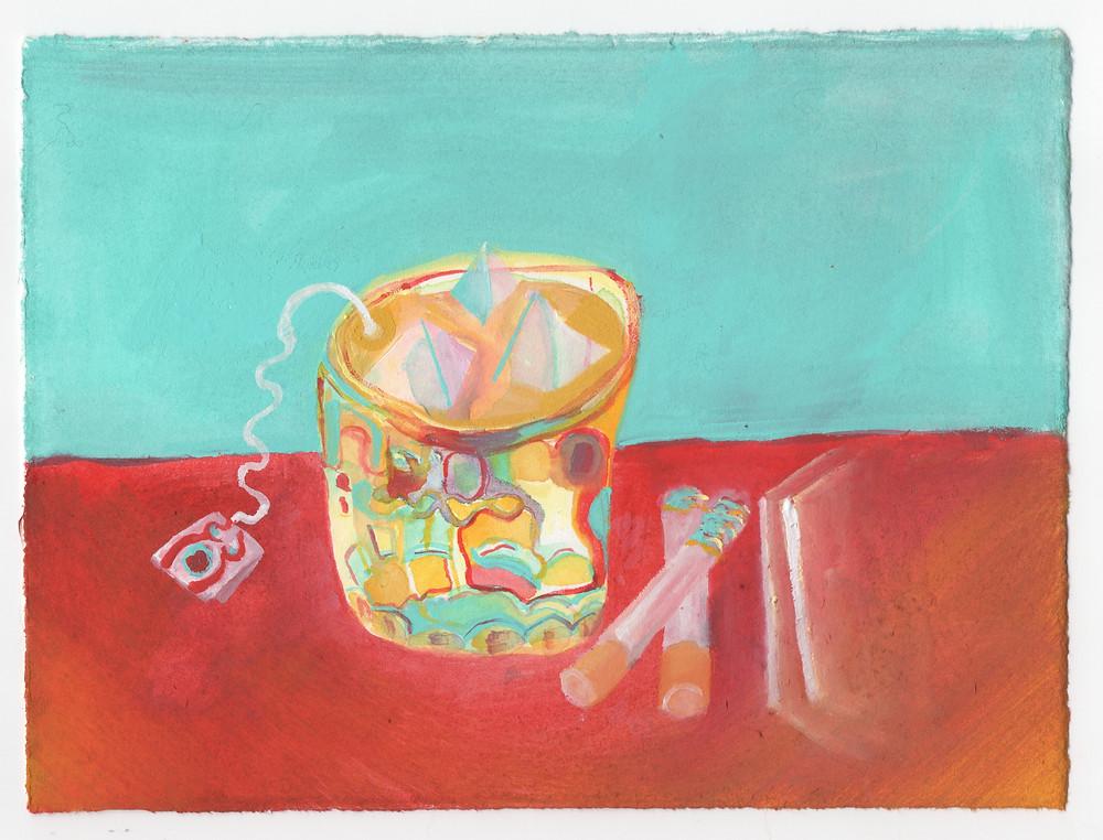 """""""Substances"""" by illustrator Julian Dennis"""