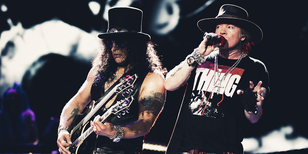 Guns N' Roses at Dodger Stadium
