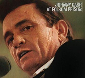 Johnny Cash, At Folsom Prison album cover