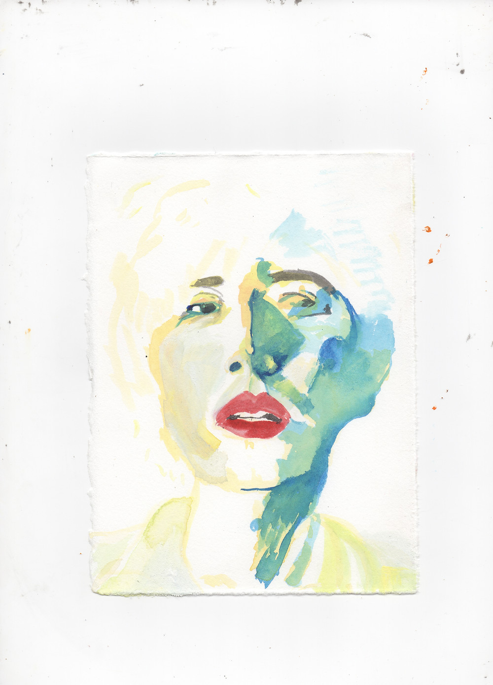 """""""Portrait of Emma"""" by illustrator Julian Dennis"""