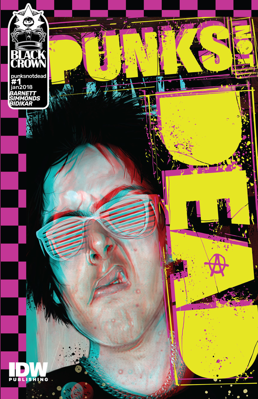 Punks Not Dead Issue #1 cover