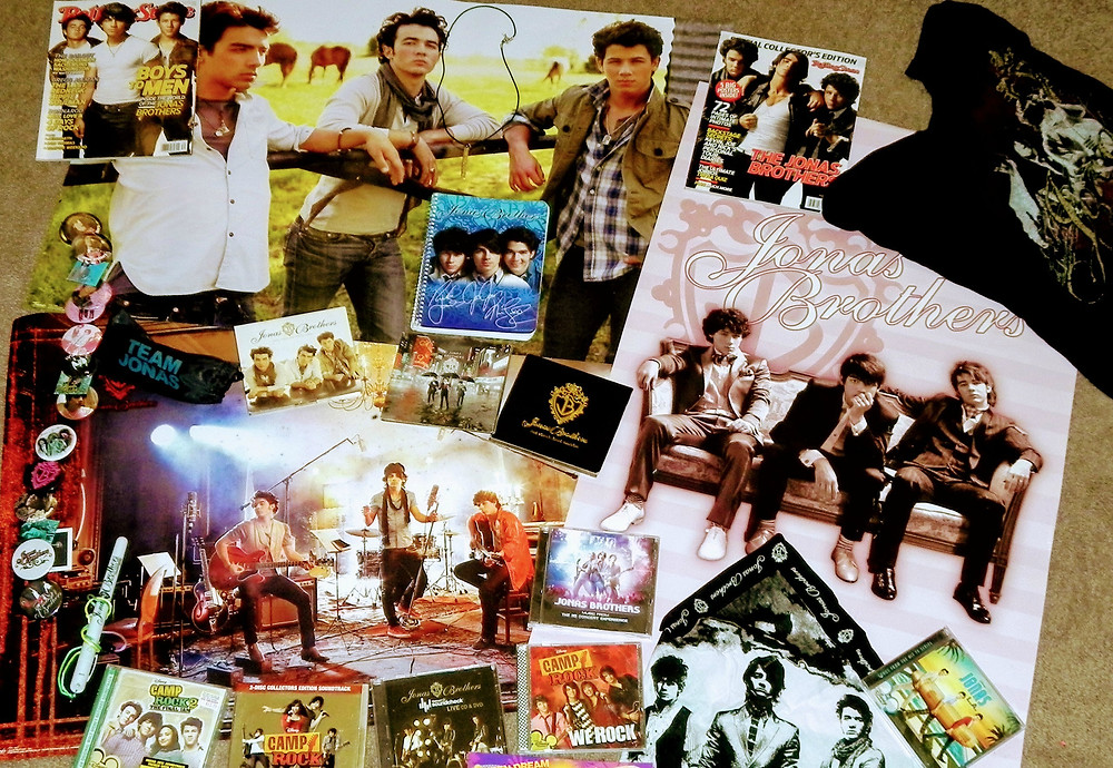 Jonas Brothers memorabilia