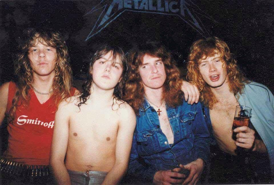 Metallica in 1982