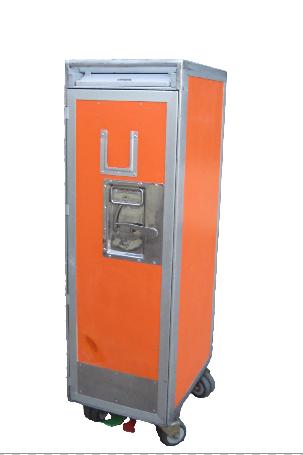 Standard Orange Cart ( + 7 drawers or shelves )