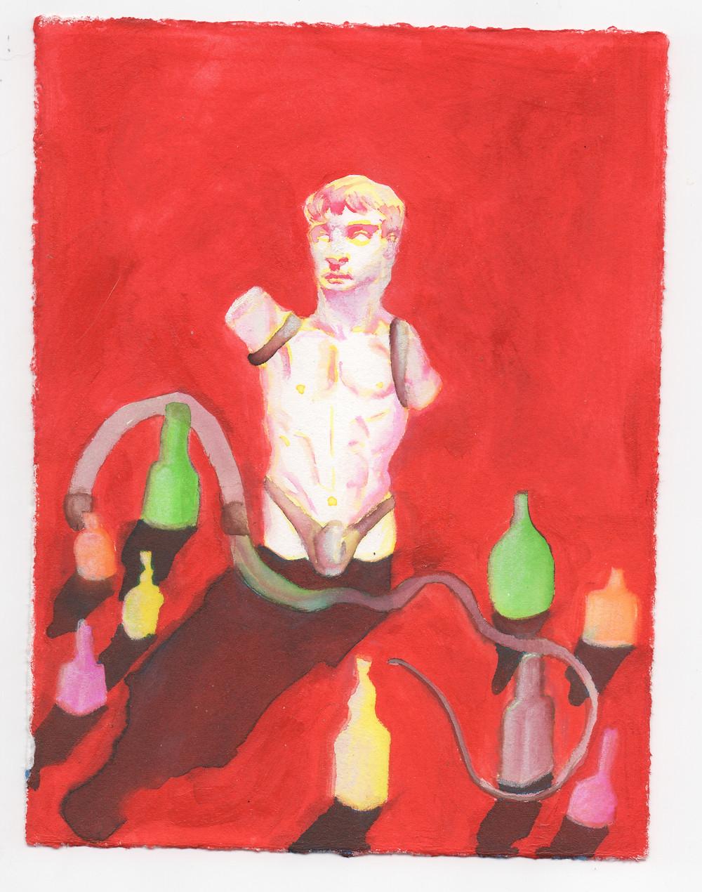 """Augustus"" by illustrator Julian Dennis"