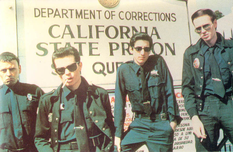Crime at San Quentin