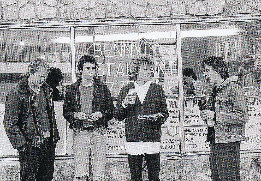 The Replacements Eat Pizza