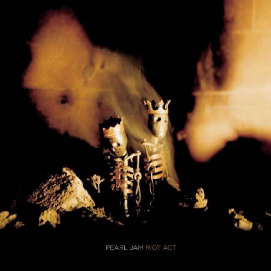 Pearl Jam, Riot Act album cover