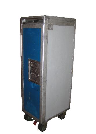 Blue / Grey Standard Cart (+ 7 drawers or shelves)