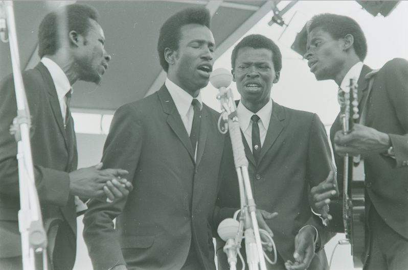 The Chambers Brothers, photo by Diana Davies
