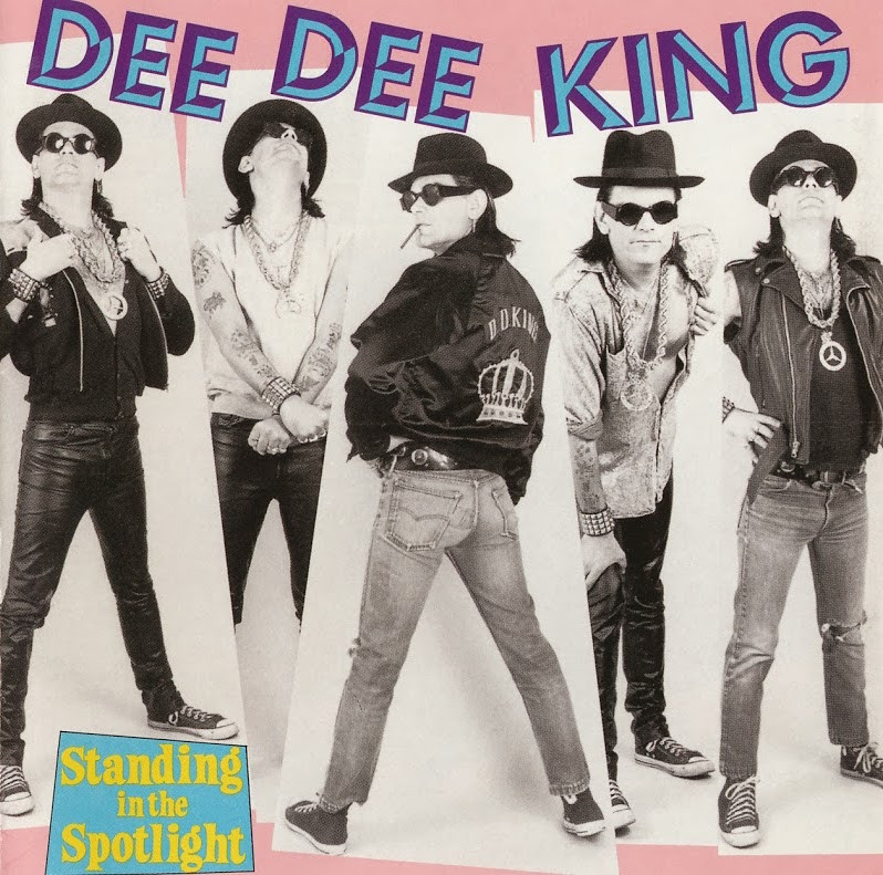Dee Dee King, Standing in the Spotlight