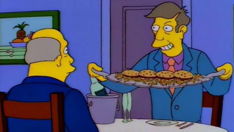 Simpsons Steamed Hams Meme