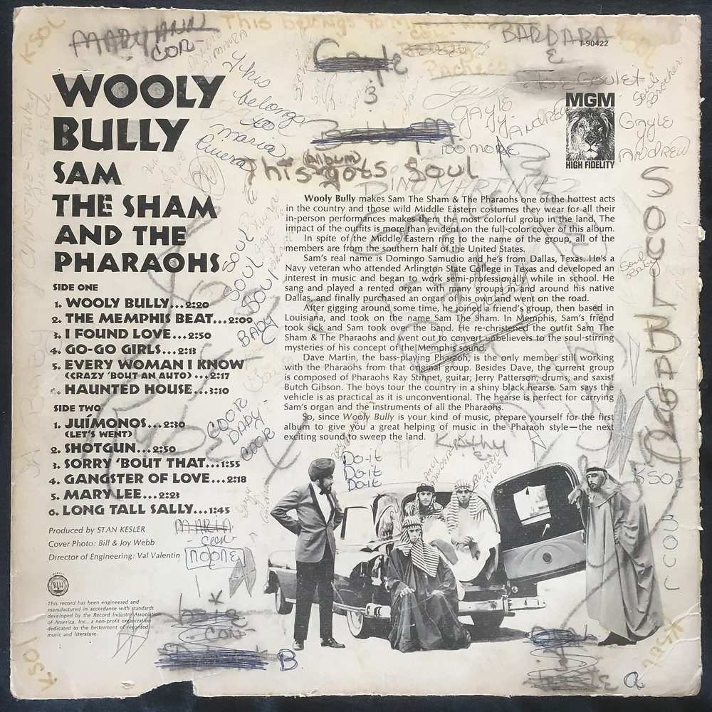 Wooly Bully back cover