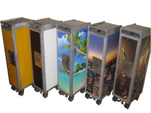 Custom Cart ( + 7 drawers or shelves )