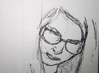 Gail with Glasses