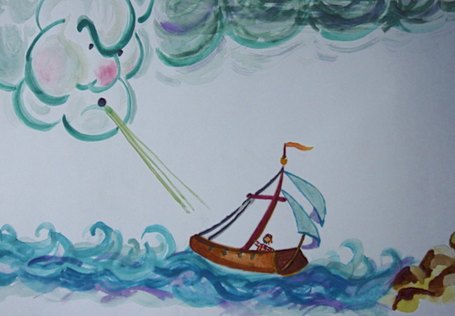 High Winds Rough Seas