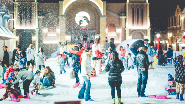 Snow Town Party