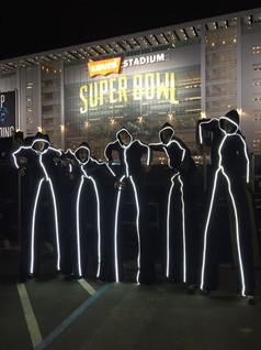 Super Bowl 50 Stick Lightmen