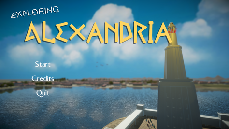 Game Project: Exploring Alexandria
