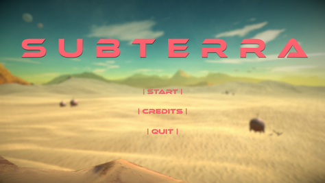 Game Project: Subterra