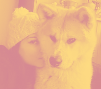 Julie Faure éducatrice et comportementaliste canin et Kaiwa