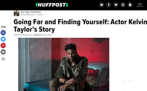 Kelvin Taylor actor's story in The Huffington Post