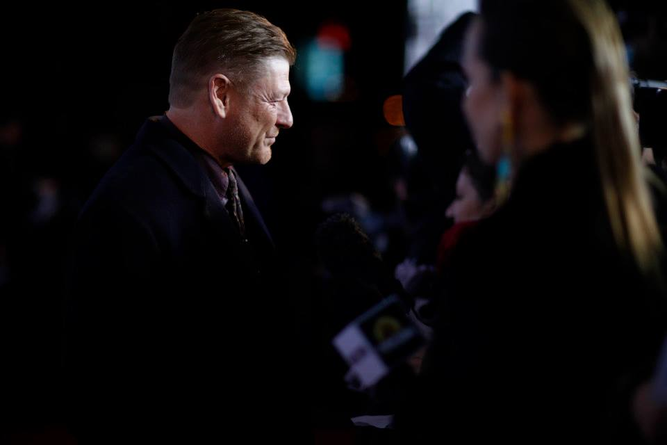 Sean Bean redcarpet interview