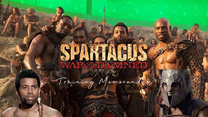 Kelvin Taylor - Spartacus Training Memor