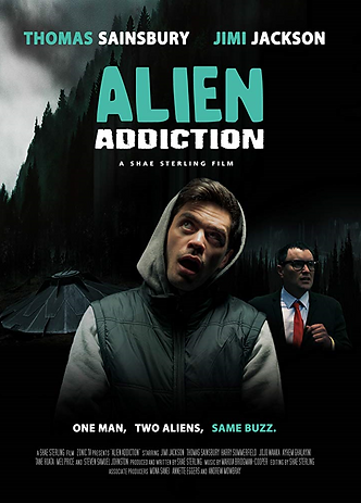 Alien Addiction - Official Poster 2 (201