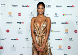 South African Actress at The International Emmys