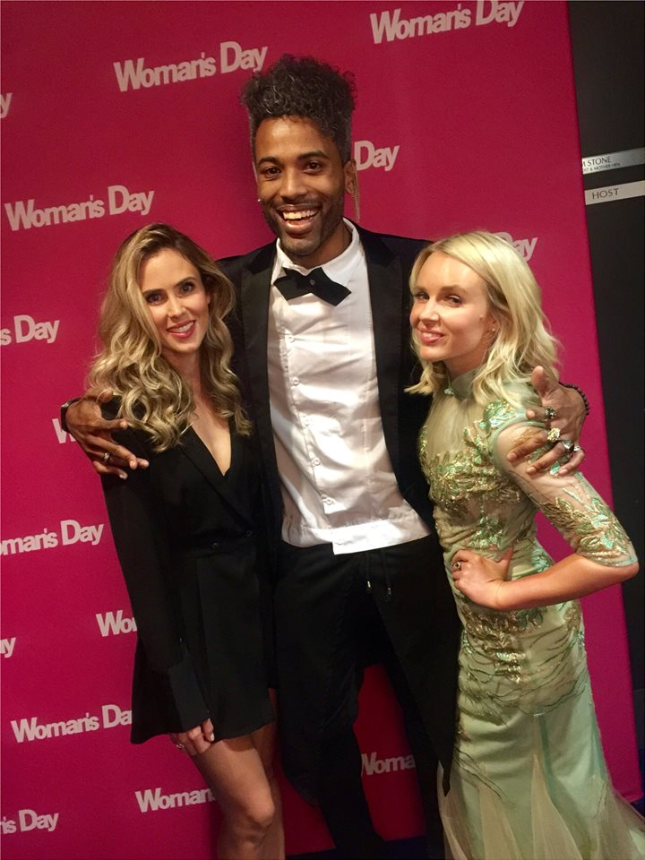 Kelvin Taylor with Anna Hutchison and Ki